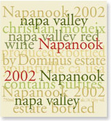 2001 Dominus Estate Napanook Red Wine Napa Valley
