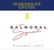 2010 Rosemount Estate Syrah Balmoral Mclaren Vale
