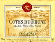 2010 E. Guigal Cotes du Rhone Blanc