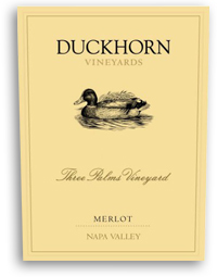 1990 Duckhorn Vineyards Merlot Three Palms Vineyard Napa Valley