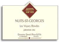1993 Domaine Daniel Rion et Fils Nuits-Saint-Georges Vignes Rondes