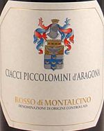 2010 Ciacci Piccolomini d'Aragona Rosso di Montalcino