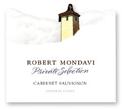 Vv Robert Mondavi Winery Cabernet Sauvignon Private Selection Central Coast
