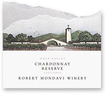 2010 Robert Mondavi Winery Chardonnay Reserve Napa Valley