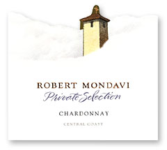 2010 Robert Mondavi Winery Chardonnay Private Selection Central Coast