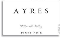 2012 Ayres Vineyard Pinot Noir Willamette Valley