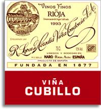 2005 R. Lopez de Heredia Vina Cubillo Crianza Rioja