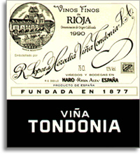2007 R. Lopez de Heredia Vina Tondonia