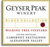 2007 Geyser Peak Winery Cabernet Sauvignon Walking Tree Alexander Valley