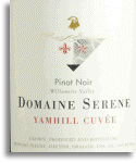 2010 Domaine Serene Pinot Noir Yamhill Cuvee Willamette Valley