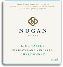 2010 Nugan Estate Chardonnay Frascas Lane Vineyard King Valley