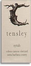 2010 Tensley Syrah Colson Canyon Vineyard Santa Barbara County