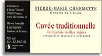 2007 Domaine du Vissoux/Pierre-Marie Chermette Beaujolais Vieilles Vignes Cuvee Traditionelle