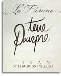 2008 Domaine La Florane Terre Pourpre Visan Cotes Du Rhone Villages