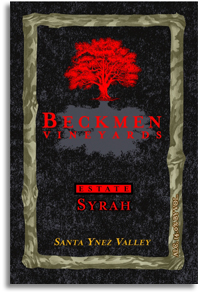 2010 Beckmen Syrah Estate Santa Ynez Valley