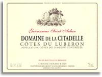 2011 Domaine De La Citadelle Gouverneur Saint Auban Rouge