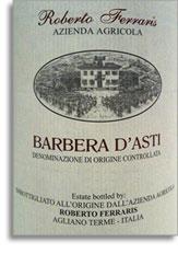 2011 Roberto Ferraris Barbera d'Asti