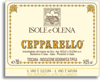 2006 Isole E Olena Cepparello Toscana Rosso