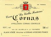 2010 Domaine Alain Voge Cornas Les Vieilles Vignes
