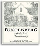 2012 Rustenberg Wines Chardonnay Stellenbosch