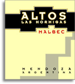 2010 Altos Las Hormigas Malbec Mendoza