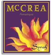 2005 Mccrea Cellars Syrah Amerique Yakima Valley