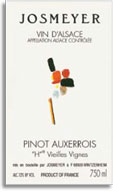 2011 Josmeyer Pinot Auxerrois H Vieilles Vignes