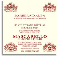2007 Giuseppe Mascarello e Figlio Barbera d'Alba Superiore Santo Stefano di Perno