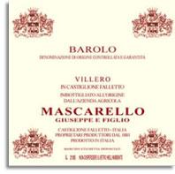 2011 Giuseppe Mascarello e Figlio Barolo Villero