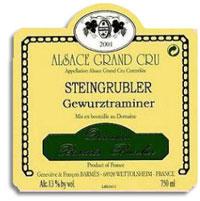 2011 Domaine Barmes-Buecher Gewurztraminer Steingrubler
