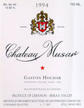 2000 Chateau Musar Red Bekka Valley