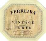 2011 Ferreira Vintage Port