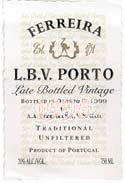 1992 Ferreira Late Bottled Vintage Port