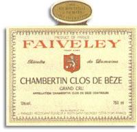 2008 Domaine Faiveley Chambertin-Clos de Beze