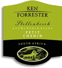 2010 Ken Forrester Wines Petit Chenin Blanc Stellenbosch