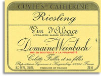 Vv Domaine Weinbach Riesling Cuvee Saint Catherine