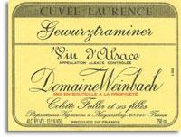 2010 Domaine Weinbach Gewurztraminer Cuvee Laurence