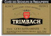 2011 Trimbach Gewurztraminer Seigneurs De Ribeaupierre