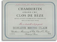 2008 Domaine Bruno Clair Chambertin-Clos de Beze