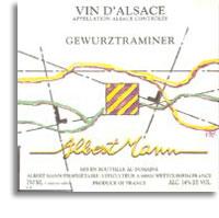 2011 Domaine Albert Mann Gewurztraminer