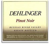 2005 Dehlinger Winery Pinot Noir Estate Russian River Valley