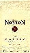 2010 Bodega Norton Malbec Reserva Mendoza
