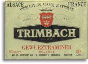 2011 Trimbach Gewurztraminer