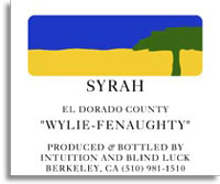 2010 Edmunds St. John Syrah Wylie-Fenaughty El Dorado County