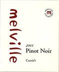 2010 Melville Vineyards and Winery Pinot Noir Estate Carrie's Sta. Rita Hills