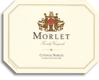 2010 Morlet Family Vineyards Pinot Noir Coteaux Nobles Sonoma Coast