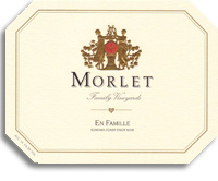 2010 Morlet Family Vineyards Pinot Noir En Famille Sonoma Coast