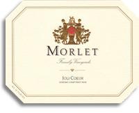 2010 Morlet Family Vineyards Pinot Noir Joli Coeur Sonoma Coast