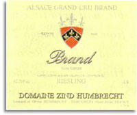 2007 Domaine Zind Humbrecht Riesling Brand