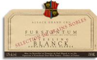 2011 Domaine Paul Blanck Riesling Furstentum Selection De Grains Nobles